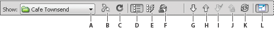 Files Panel Toolbar Dreamweaver CS4