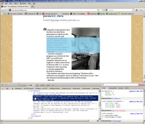 towerofbabel.com firebug screenshot